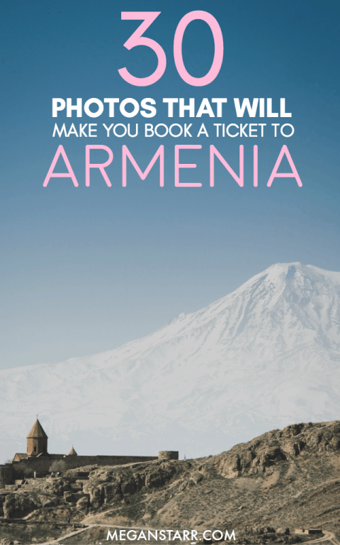 Armenia is one of my favorite countries and Yerevan is one of my favorite cities. This post shows photos that prove that road trips in Armenia are the best!