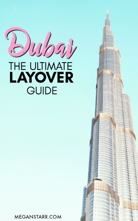 Do you have a layover in Dubai?  This post shows how much you can see with a day in Dubai and offers a free map showing how to do it!