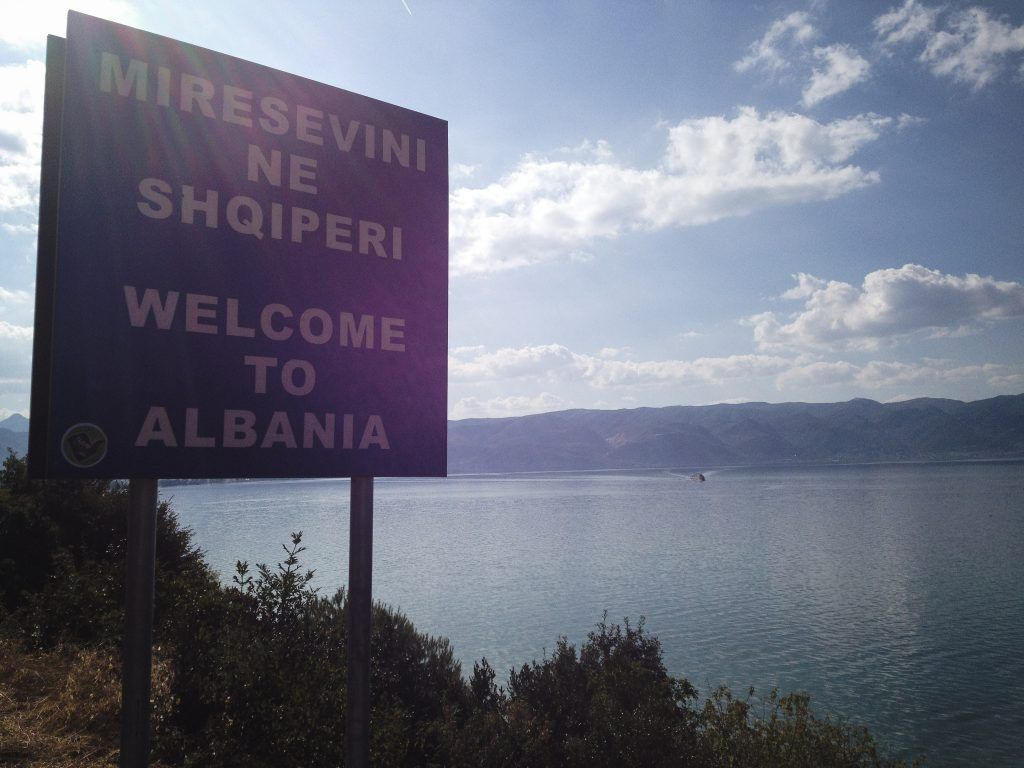 Going from Macedonia to Tushemisht, Albania