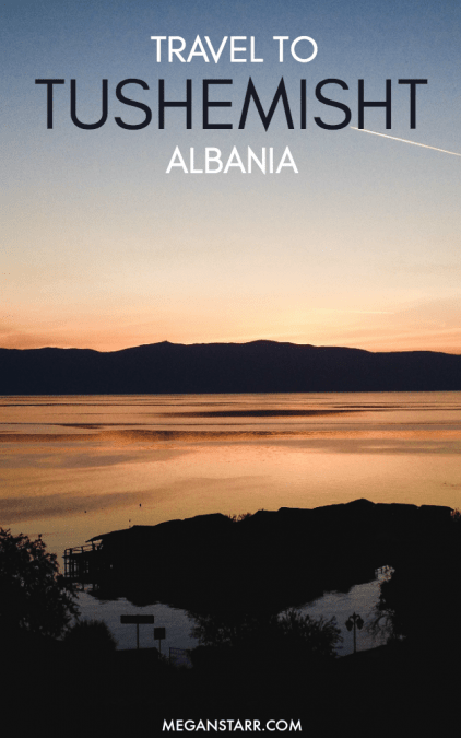 I took a day-trip from Macedonia and walked across the Albania to a town on Lake Ohrid called Tushemisht. This is a recap of my day there.