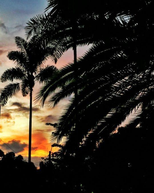 Sunset Parque Lleras in Medellin