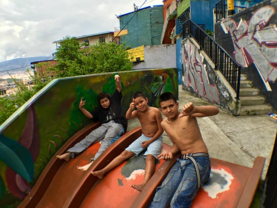 Comuna 13 Medellin, Colombia