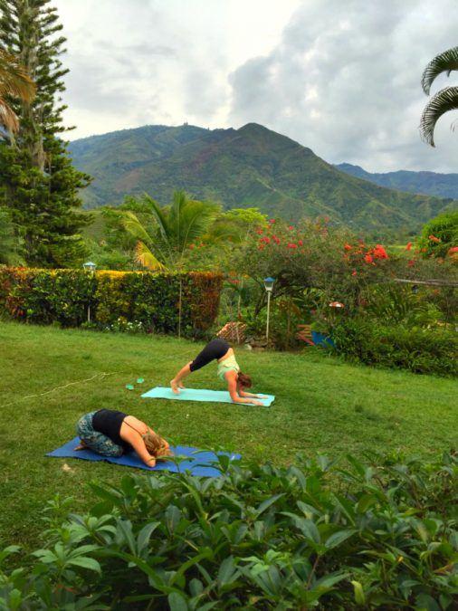 Yoga at Hostal La Finca