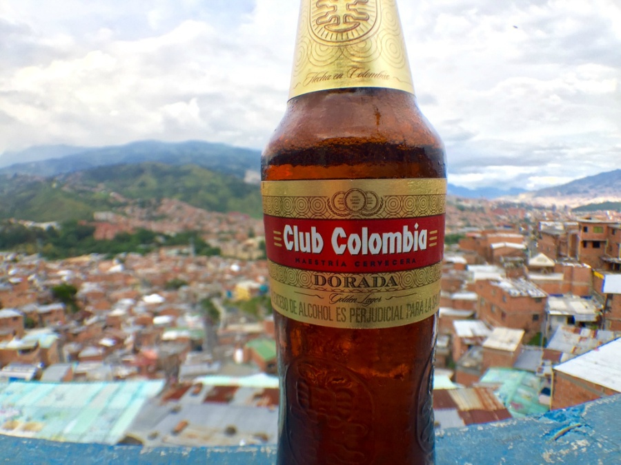Club Colombia in Medellin in Comuna 13