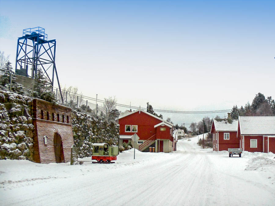 Visnes, Norway mining field