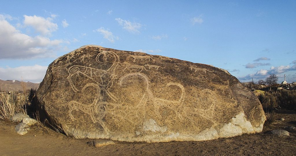 Cholpon-ata, Kyrgyzstan petroglyphs