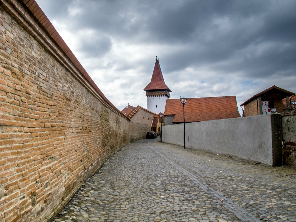 Walls of Medias, Romania