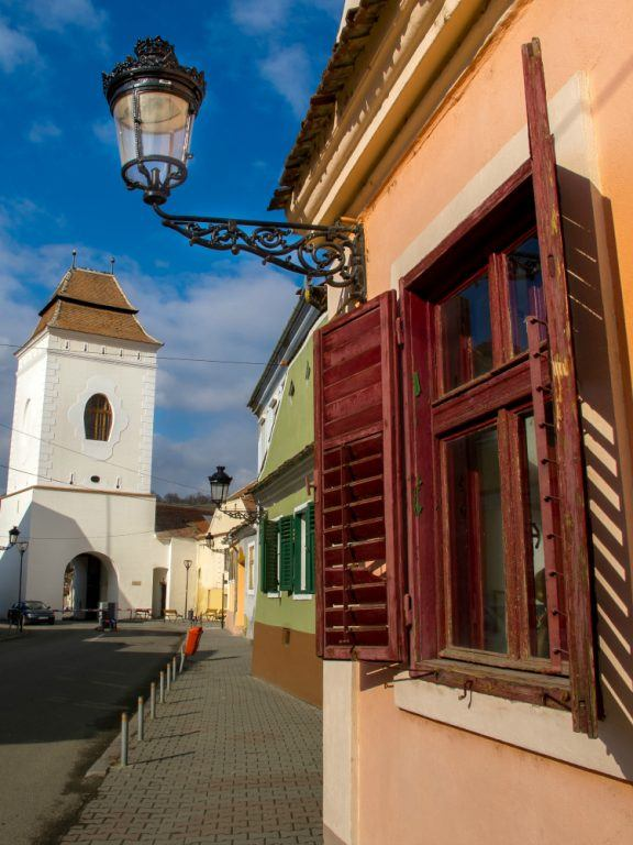 Old Town of Medias, Romania