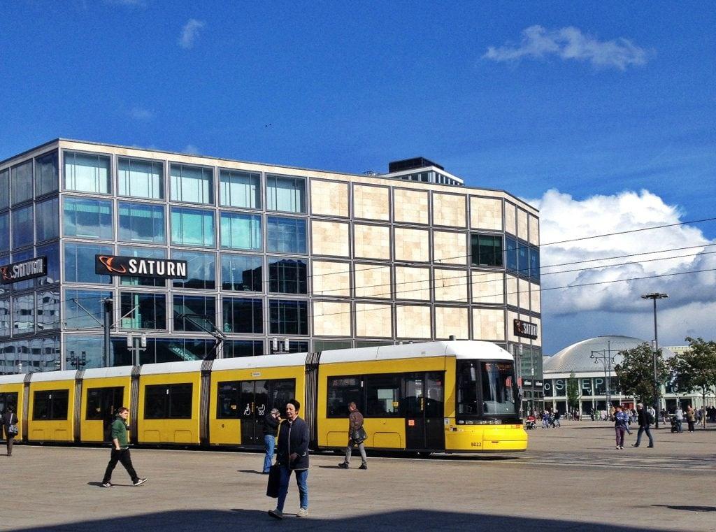 Public transport in Berlin, Germany