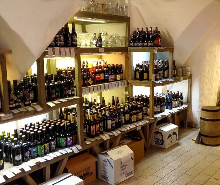 Gambrinus craft beer shop in Tartu, Estonia