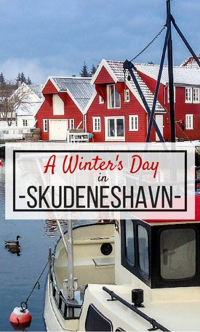 A Winter's Day in Skudeneshavn- a picturesque, little town on Norway's west coast in Rogaland on Karmøy.