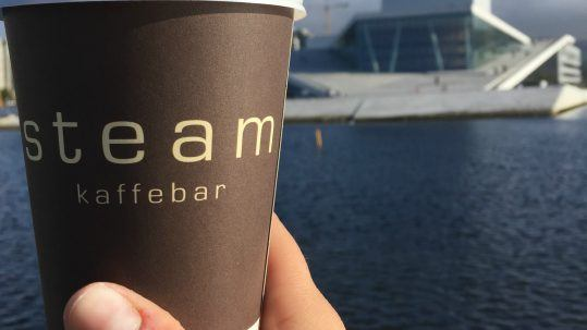 Coffee from Steam in Oslo