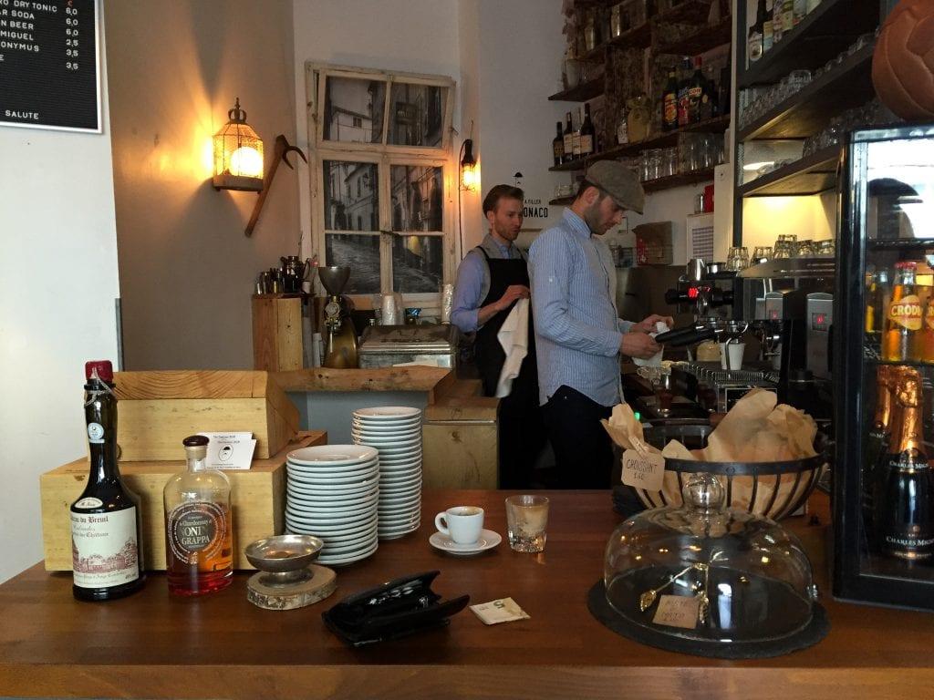 The Espresso Bar in Frankfurt
