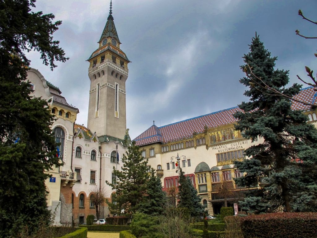 Palace of Culture in Targu Mures, Romania