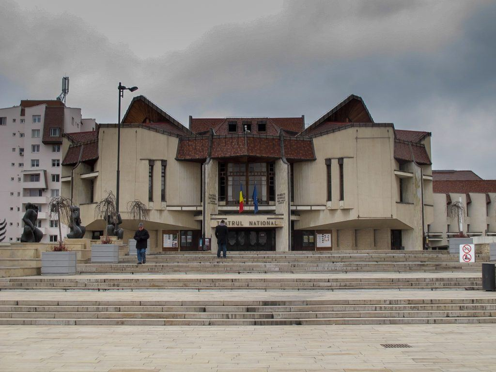 National Theatre in Targu Mures, Romania