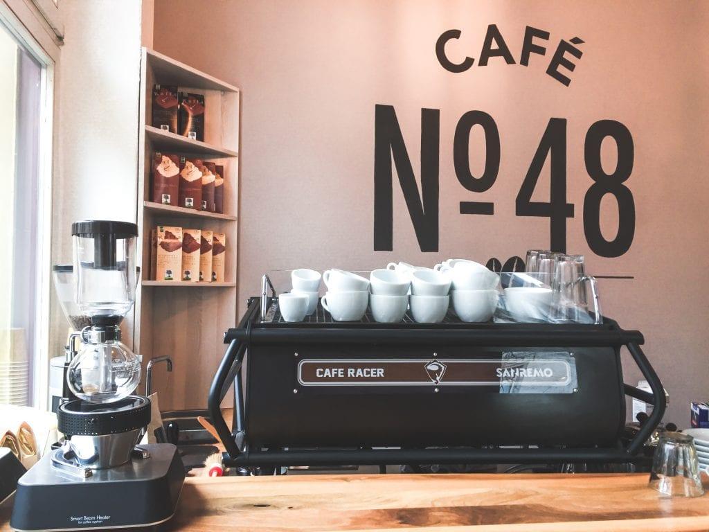 Cafe no. 48 in Frankfurt Nordend