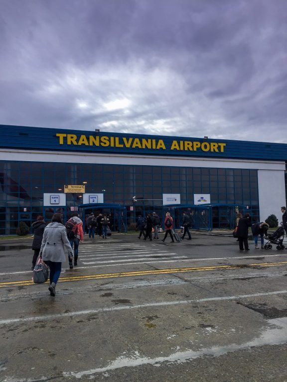Airport in Targu Mures, Romania