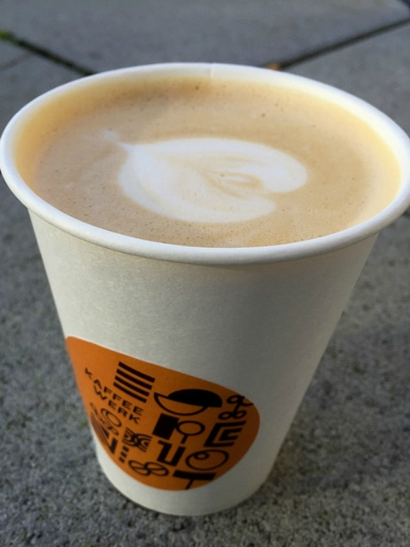 Kaffeewerk Espressionist to go in Frankfurt, Germany