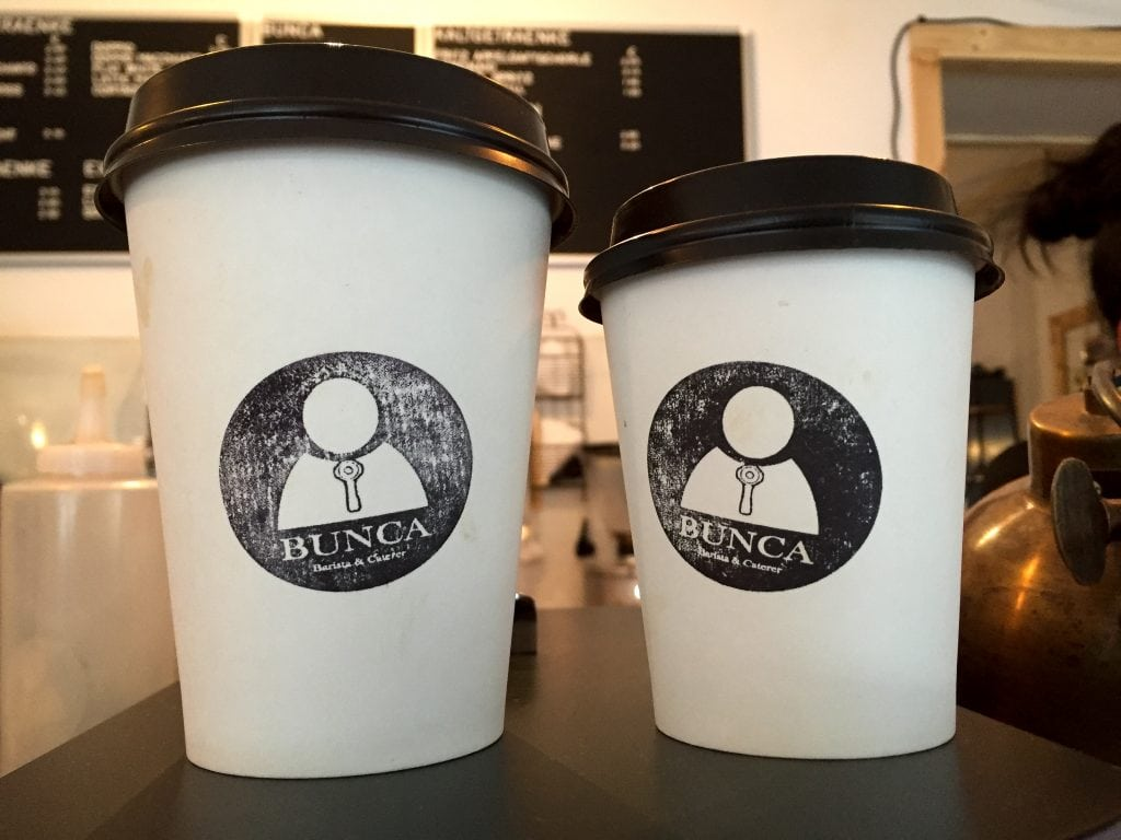Bunca coffee in Frankfurt, Germany