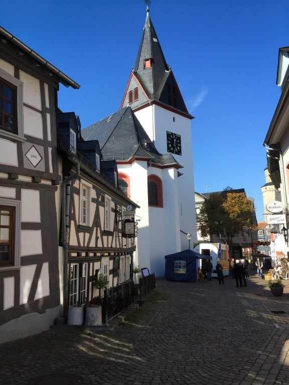 Idstein in Hesse, Germany