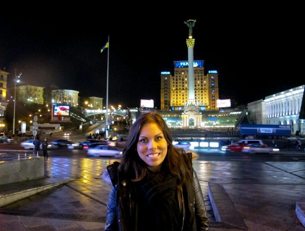 Me in Kiev 2011