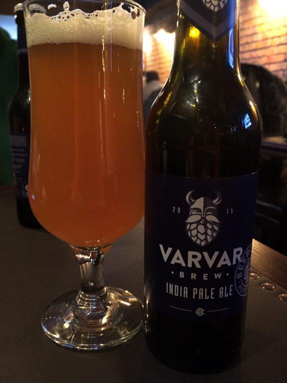 Craft beer from Varvar in Kiev
