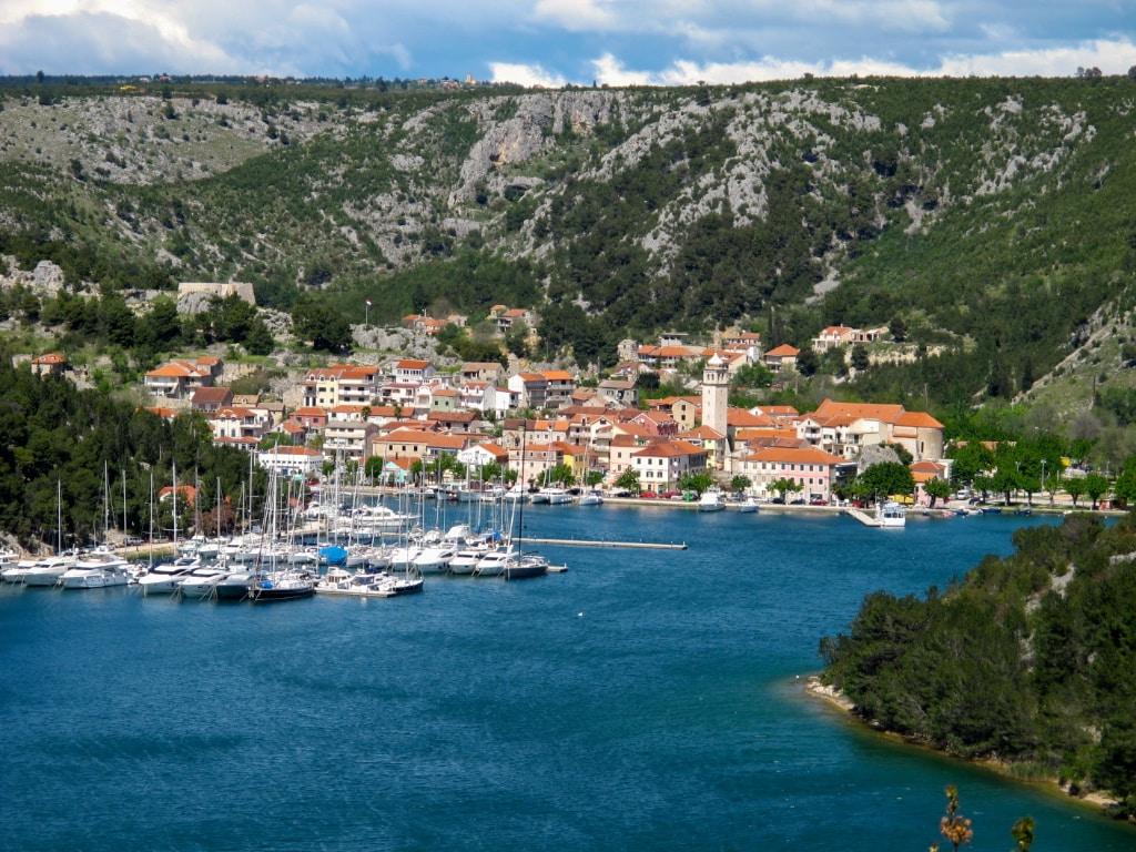 Skradin, Croatia near Krka National Park