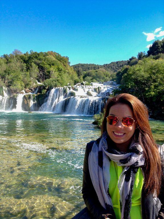 Me at Krka National Park in Croatia