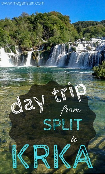 A recap from a day trip from Split to Krka National Park in Croatia