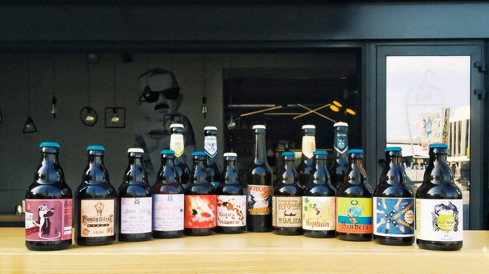 Craft Beer at Bimbo Coffee and More in Kiev
