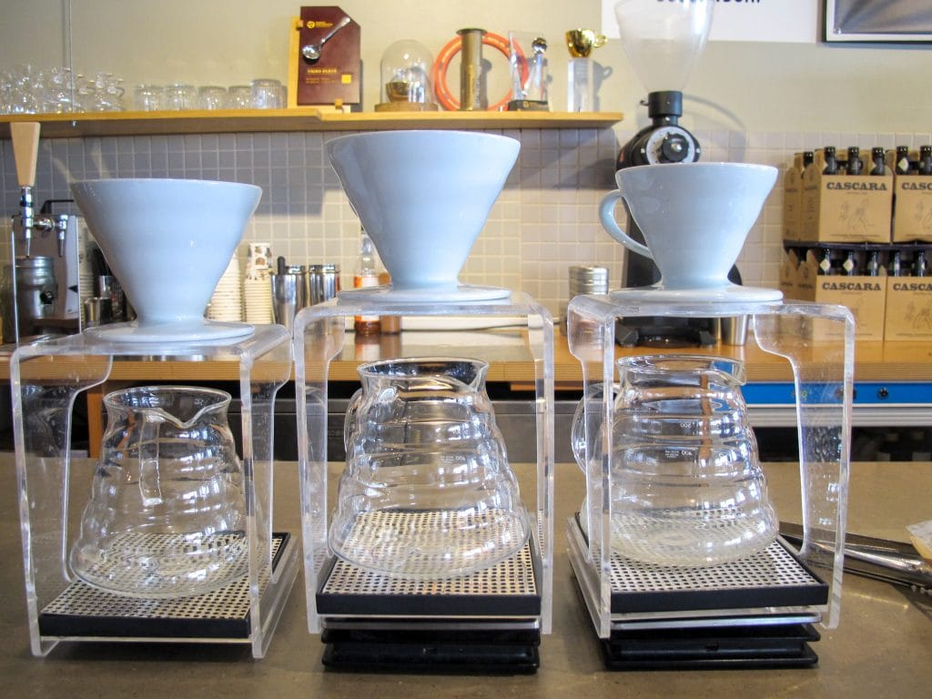 Pourover at Rosterei Vier