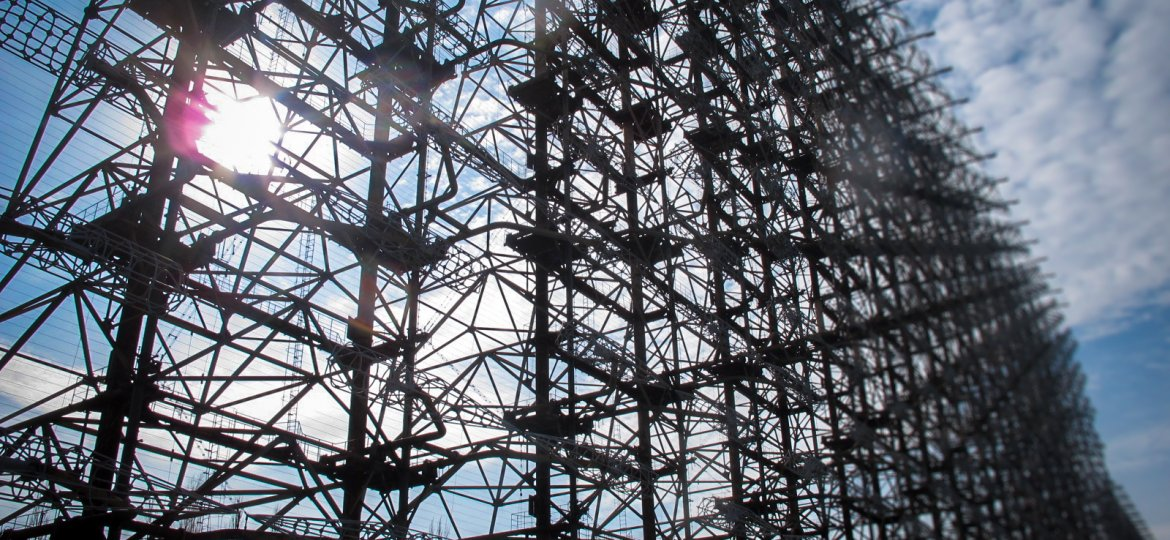 Russian Woodpecker inside the Chernobyl Exclusion Zone