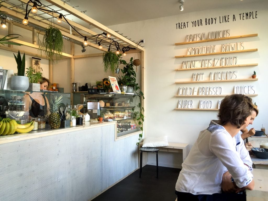 Greentrees Juicery in Derendorf in Dusseldorf