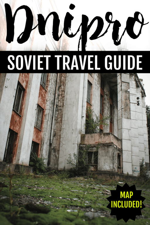 This post takes you around Soviet Dnipro, Ukraine (formerly Dnipropetrovsk). It includes structures and buildings from different eras of architecture.