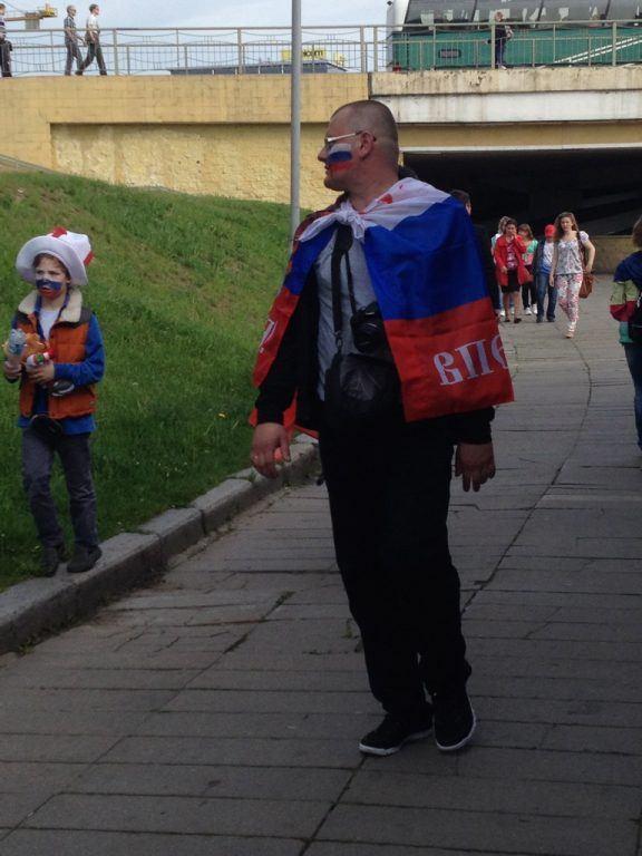 Minsk, Belarus for IIHF Hockey Championships