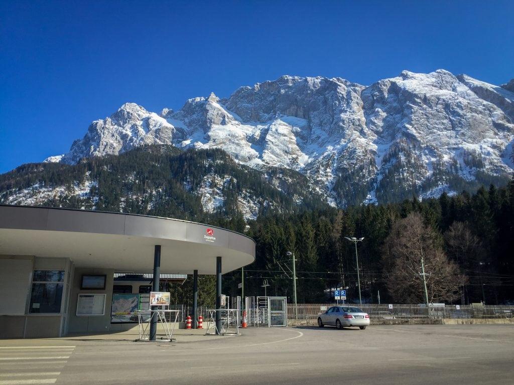 Zugspitze train station in Garmisch-Partenkirchen, Germany
