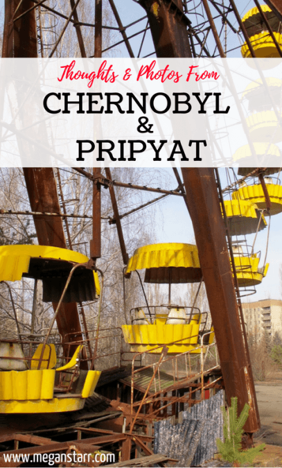 Sharing many photos and honest thoughts from my time visiting Chernobyl and Pripyat in the Chernobyl Exclusion Zone in Ukraine. Click to view!