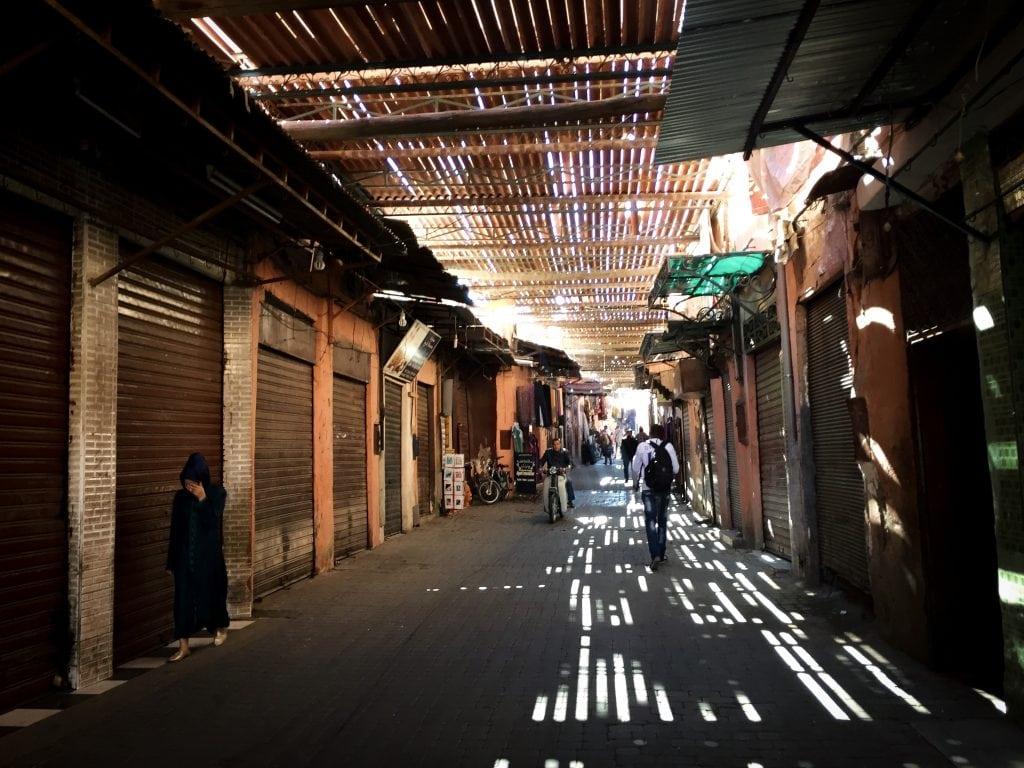 Medina in Marrakech, Morocco