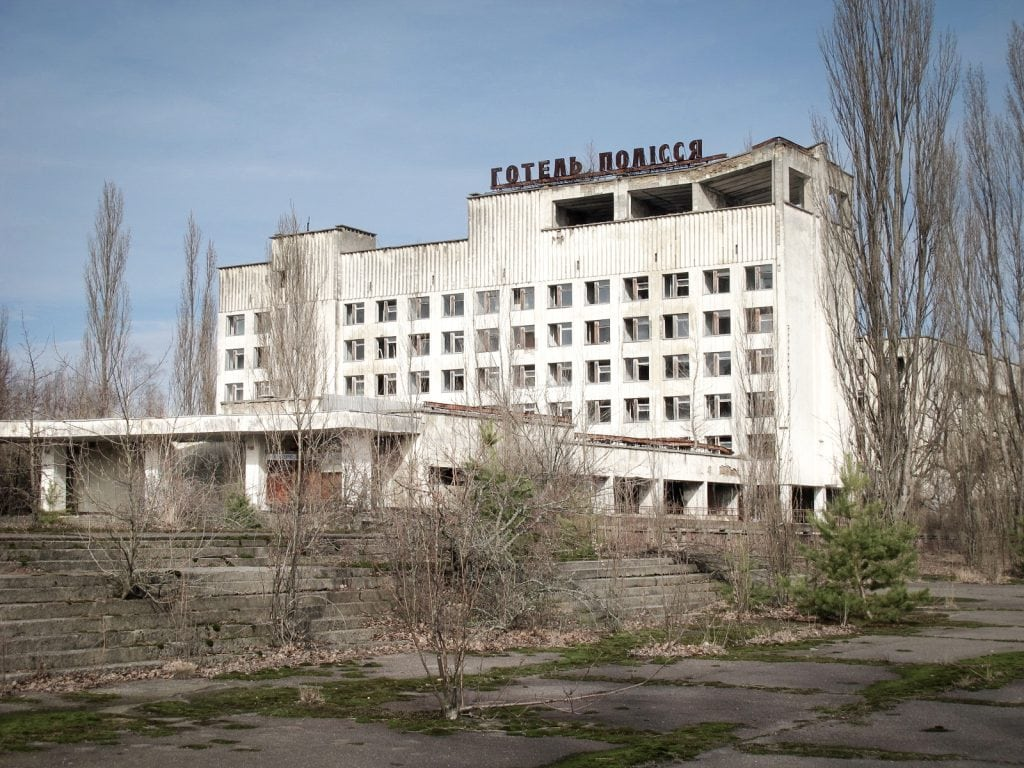 Visiting the Chernobyl Exclusion Zone; Pripyat, Ukraine