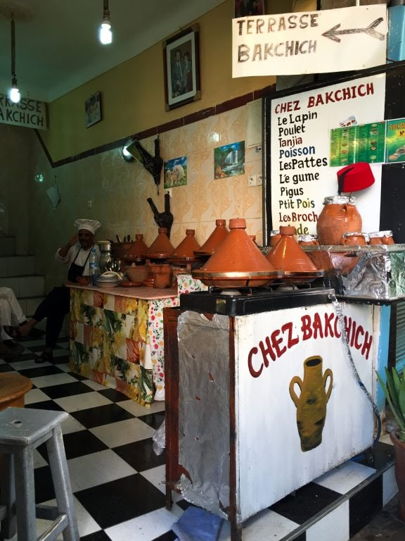 Marrakech, Morocco food