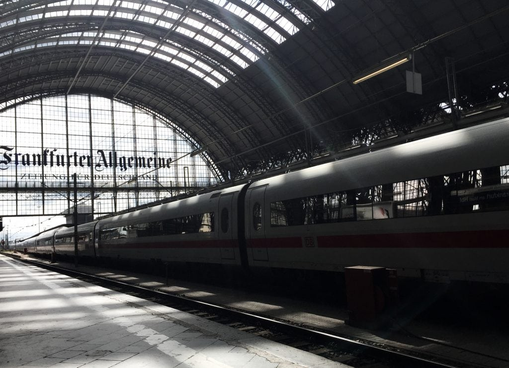 Trains in Frankfurt