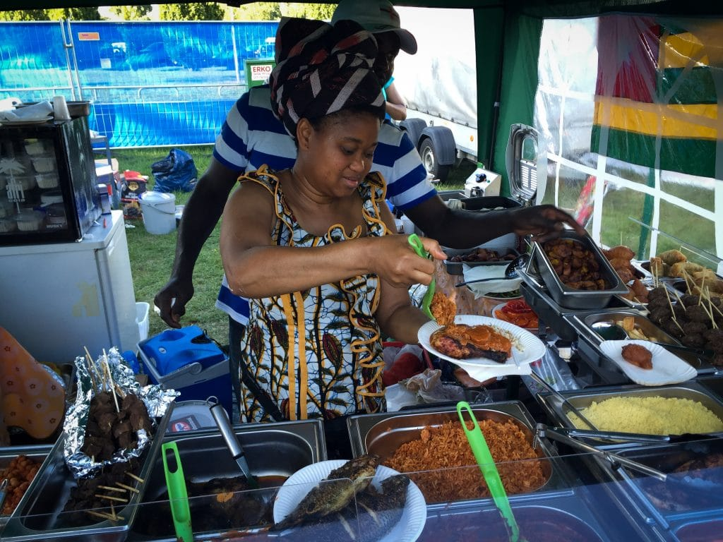African and Caribbean Festival in Frankfurt