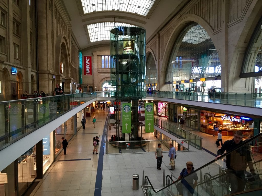Leipzig Hauptbahnhof is Europe's largest train station