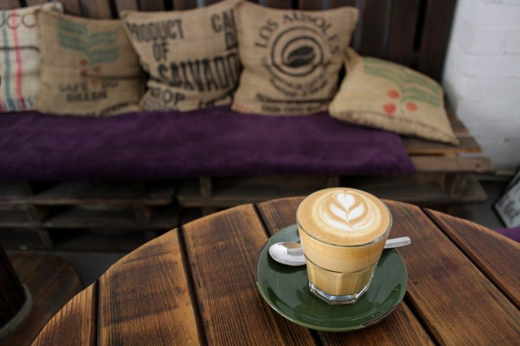 Coffee at Mr. Bourbon in Kharkiv, Ukraine