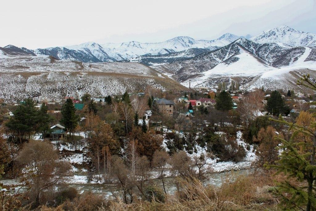 Outside of Ala Archa National Park near Bishkek, Kyrgyzstan