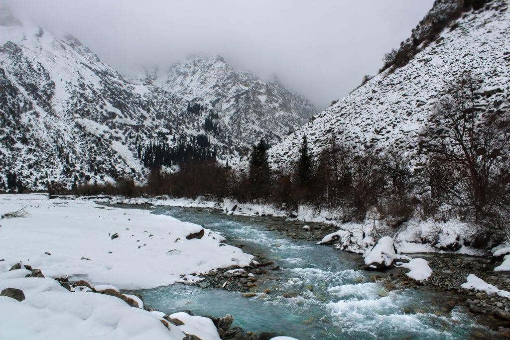 Ala Archa National Park outside of Bishkek, Kyrgyzstan