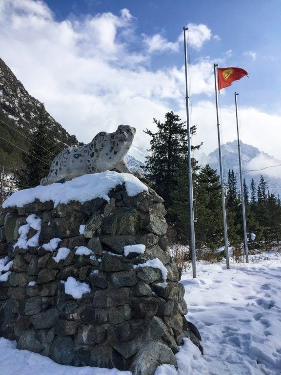 Ala Archa National Park near Bishkek, Kyrgyzstan