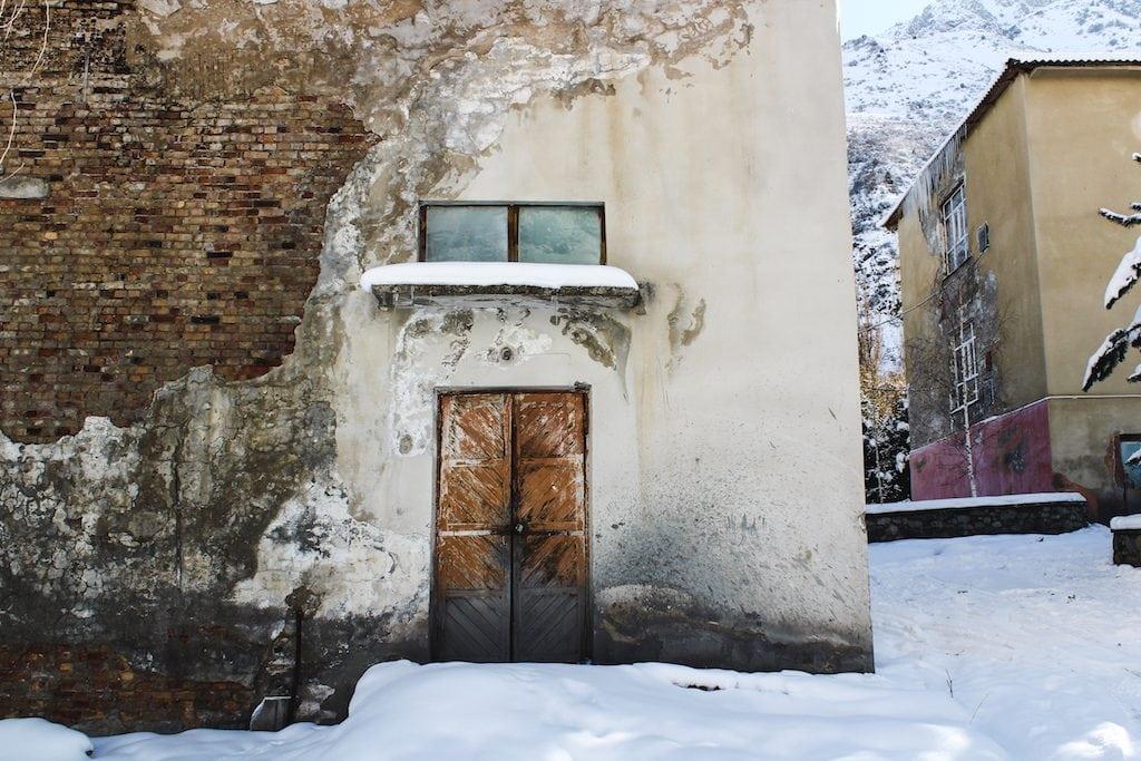 Issyk-ata Soviet Sanatorium in Kyrgyzstan