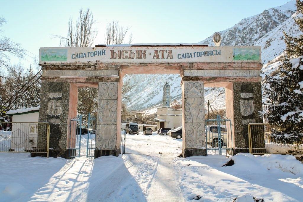 Issyk-ata Soviet Sanatorium outside of Bishkek, Kyrgyzstan