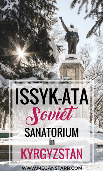 Issyk-ata dates back to ancient times, but the sanatorium in the mountains of Kyrgyzstan was made famous during Soviet times. Click to read more!